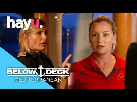 Hannah On Verge Of Being Fired! | Below Deck Mediterranean