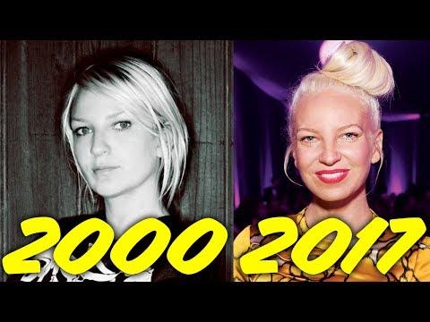 The Evolution of Sia (2000-2017)
