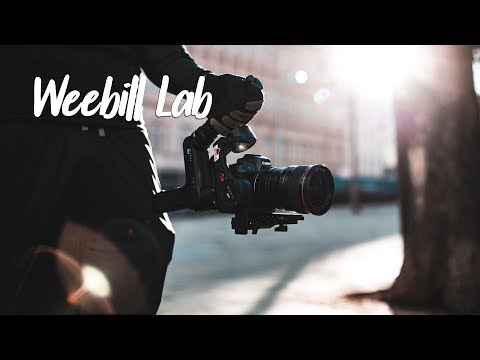 Running with the Zhiyun Weebill Lab & testing the Eos R! Review Part 1