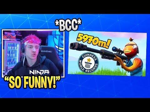 Ninja Reacts to Fortnite Funny Fails & Moments #432 (BCC Trolling)