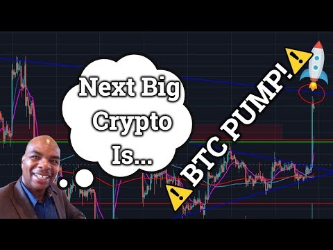 "Bitcoin BTC Pumps!? Davincij15 To Reveal ""Next Big"" Cryptocurrency!? (Price + Trading + News 2019)"