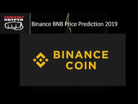 Binance BNB Coin Price Prediction 2019
