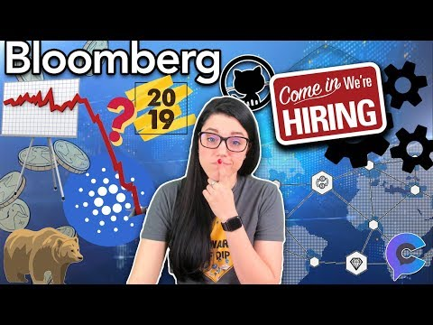 The Future of Blockchain Jobs, Cardano Most Active Coin of 2018, and Bloomberg Predicts Recession?!