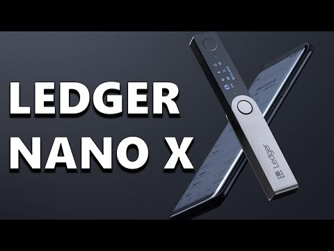 Ledger Nano X – The Bluetooth Enabled Cryptocurrency Wallet