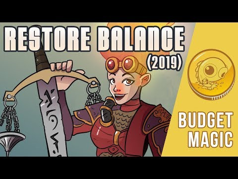 Budget Magic: $116 (14 tix) Restore Balance 2019 (Modern, Magic Online)