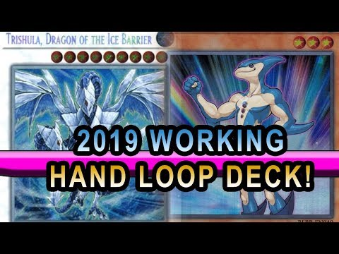 Trishula And Neo Space Dolphin Hand Loop! Banish All Cards! Deck 2019 Working Yugioh Deck