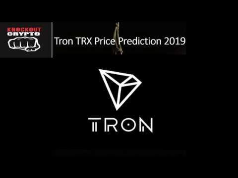 TRON TRX Price Prediction 2019