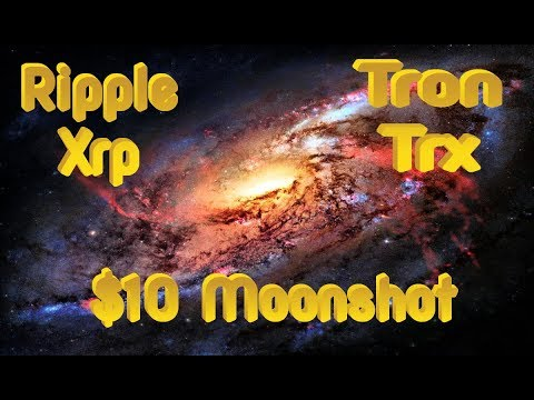 XRP (Ripple) AND TRON (TRX) Projected To Hit $10! Here's Why *Explained*