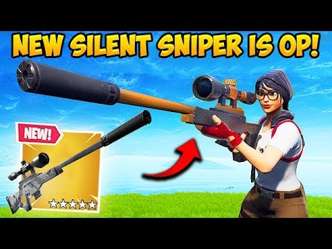 *NEW* SILENCED SNIPER IS INSANE! – Fortnite Funny Fails and WTF Moments! #436