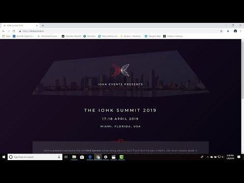 IOHK Summit 2019 Cardano is Coming