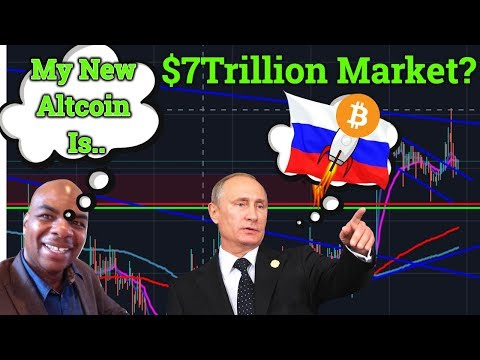 Russia Buying Billions Of Cryptocurrency? $7Trillion Market? Davincij15 NEW Altcoin! Bitcoin News!