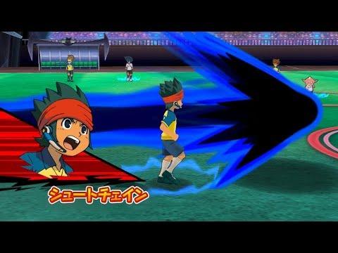 Inazuma Eleven Go Strikers 2013 Neo Raimon 2 Vs Neo Ogre Wii 1080p (Dolphin/Gameplay)