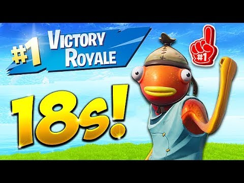 *NEW RECORD* 18 SECOND GAME WIN! – Fortnite Funny Fails and WTF Moments! #437