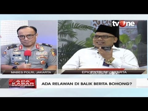 Ada Relawan di Balik Berita Bohong? || Apa Kabar Indonesia Pagi (10/1/2019)