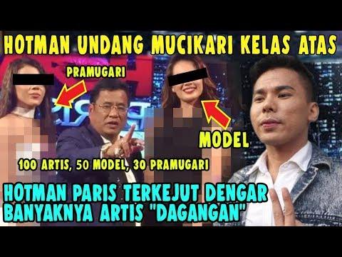 Kaget! Hotman Paris & Mucikari Artis – Robby Abbas : Ada 100 Artis, 50 Model, 30 Pramugari Saya Jual