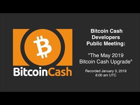 Bitcoin Cash Development video meeting – January 3 2019 – 8am UTC