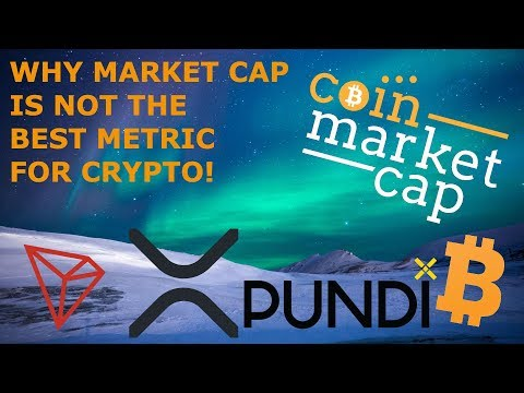 WHY MARKET CAP IS NOT THE BEST METRIC FOR CRYPTO! TRON TRX BTC BITCOIN RIPPLE XRP