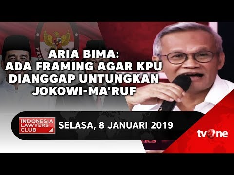Aria Bima: Ada Framing Agar KPU Dianggap Untungkan Jokowi-Ma'ruf