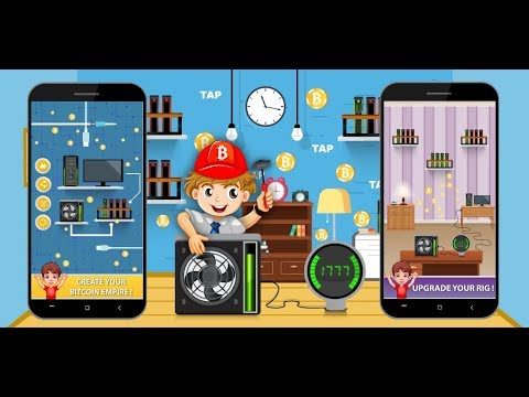 Bitcoin Mining – Cryptocurrency, Bitcoin, Tap Game