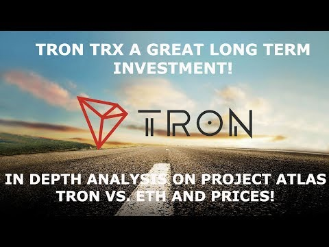TRON TRX  A GREAT LONG TERM INVESTMENT!!!