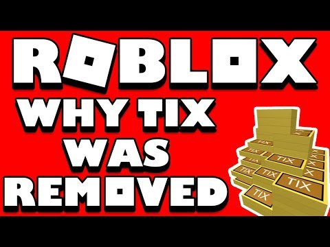 Why Roblox REMOVED TIX!! (The Real Reason) And Why Tickets Won't Come Back!