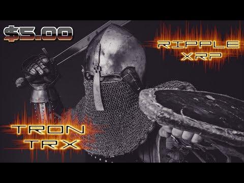 XRP (Ripple) AND TRON (TRX) Gaining Momentum Huge News! $5 *Proof*
