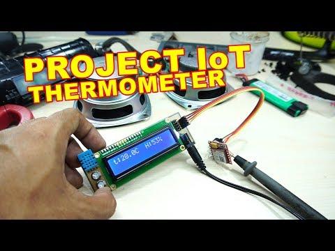 Project IoT Suhu dan Kelembaban Web VLOG194