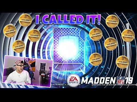 I SPENT OVER 1 MILLION COINS ON PLAYOFF EXCHANGE PACKS! OMG! Madden 19 Ultimate Team Pack Opeing