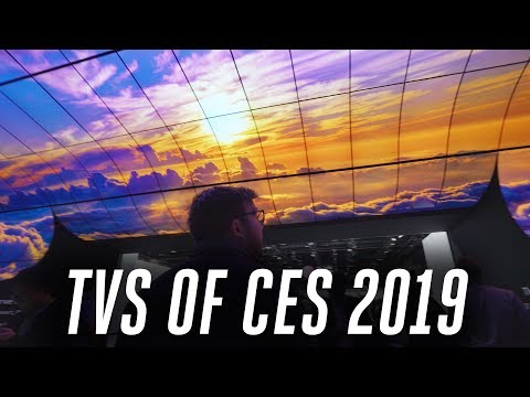 TVs of CES 2019: 8K is still a fantasy