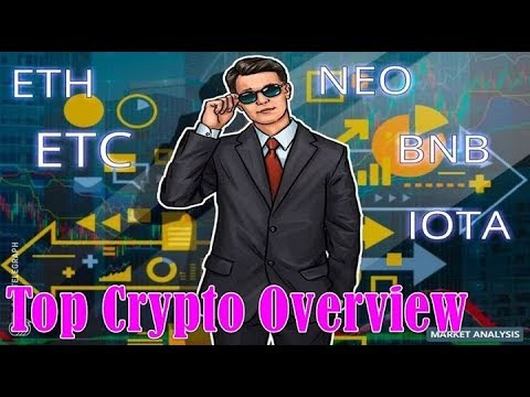 Top Crypto Performers Overview: Ethereum, Ethereum Classic, NEO, IOTA, Binance Coin, Stratis