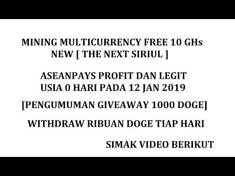 MINING MULTICURRENCY TERBARU FREE 10  GHs [PENGUMUMAN GA 1000 DOGE]