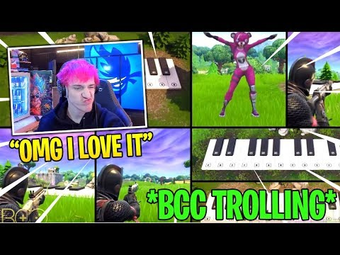 Ninja Reacts to BCC Trolling LONGEST EVER SNOWBALL THROW! – Fortnite Funny Fails and WTF Moments!