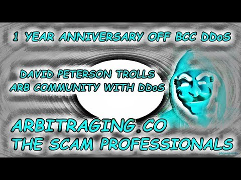 Trolling 1 Year Anniversary Of BCC DDoS With Arbitraging CEO #cryptonews #bitcoin #ethereum