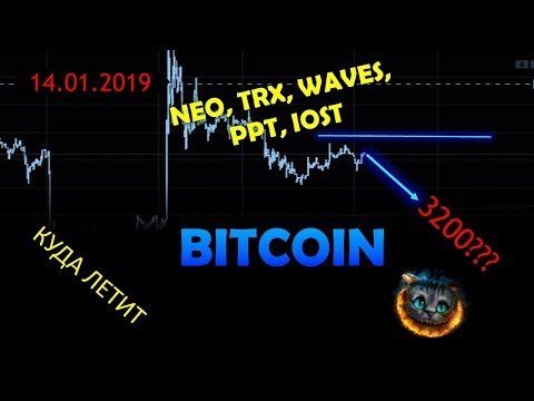 Bitcoin- скрытая угроза. Прогноз по IOST, TRX, PPT, NEO, WAVES.
