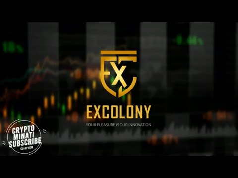 EXCOLONY ⚡ New Era of Centralized Cryptocurrency  Exchange Powered by Blockchain Technology
