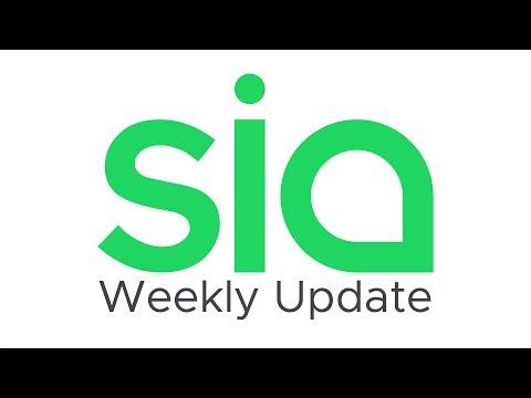 Sia Weekly Update – Week of January 6th