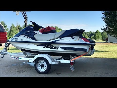 2001 Kawasaki 1100 STX D.I. Jet Ski for sale