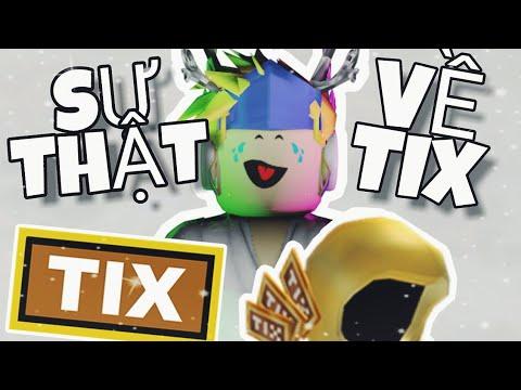 Sự Thật Về TIX Trong ROBLOX!?