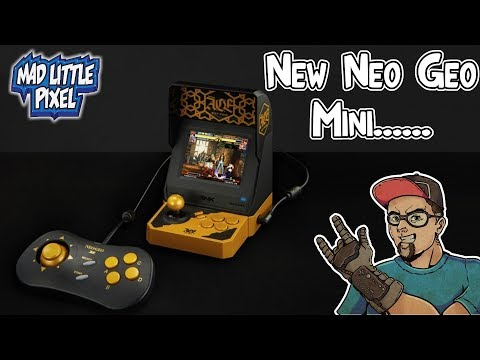 New Neo Geo Mini Coming Out! Chinese Exclusive Wu Yifan ACE Cross Over!