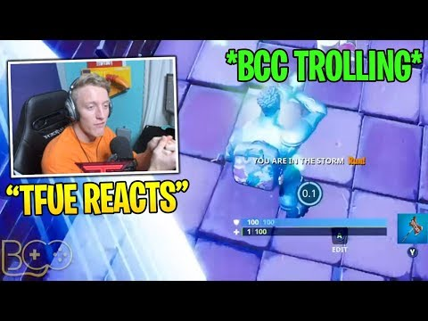 Tfue Reacts to Bcc Trolling *0.1 SECOND* UNLUCKIEST TIMING EVER! – Fortnite Funny Fails WTF Moments!