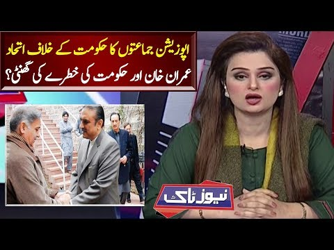 Zardari Shahbaz Alliance Against PTI Govt | News Talk | Neo News