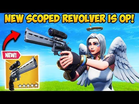 *NEW* SCOPED REVOLVER IS OP! – Fortnite Funny Fails and WTF Moments! #442