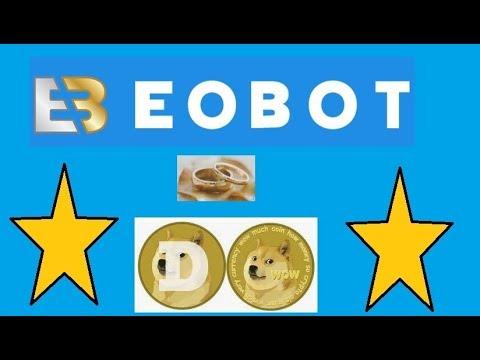 EOBOT E DOGECOIN   UM CASAMENTO PERFEITO