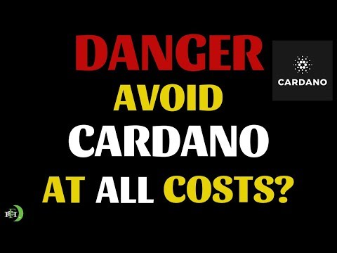 DANGER: AVOID CARDANO AT ALL COSTS? (CAN ADA MAKE ATH'S?)