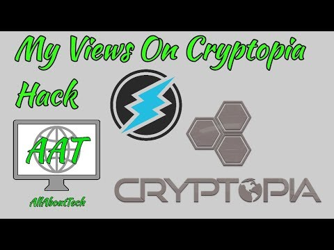 Electroneum My Views On Cryptopia Hack! What Needs To Happen!
