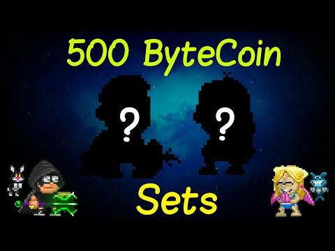 500 ByteCoin Set Challenge ft. Maliena | Pixel Worlds |