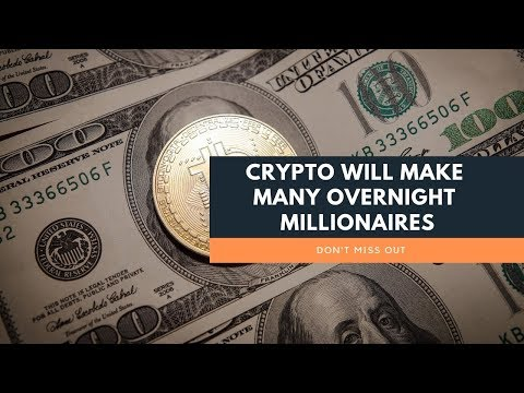 Crypto Will Make Many Overnight Shock Millionaires  | Cryptocurrency And Wealth Building Tips