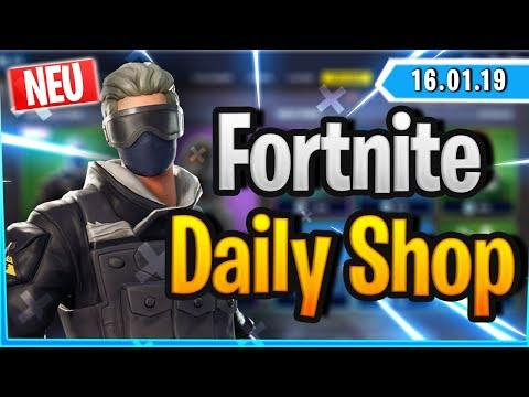 Fortnite Daily Shop *NEU* VERGE SKIN (16 Januar 2019)