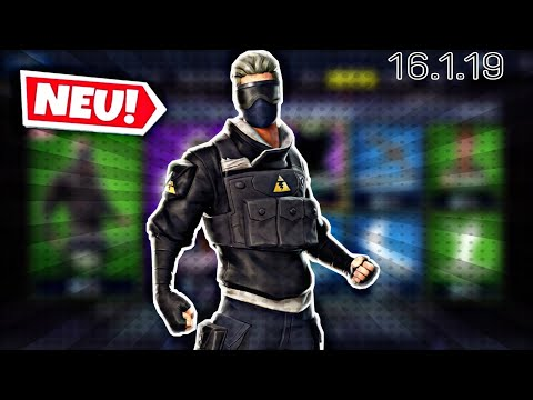 FORTNITE DAILY ITEM SHOP 16.1.19 | NEUER VERGE SKIN IST DA!!