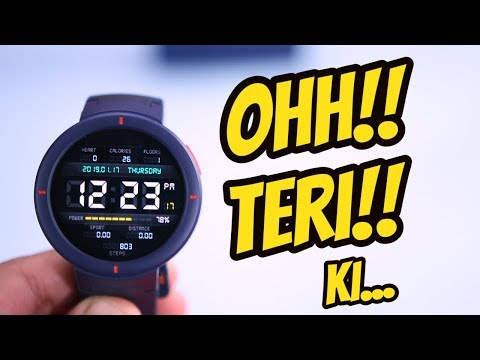 Time to Move on Amazfit Verge